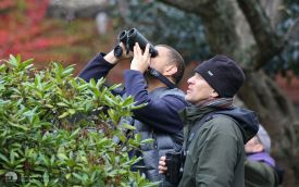 Watching Crag Martin at Chesterfield, 14th November 2014